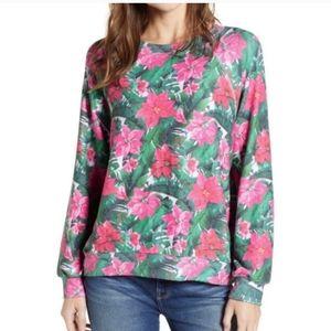 Wildfox Holiday Island Sweatshirt Sweater XS